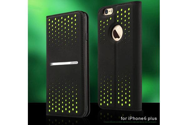 USAMS iPhone 6 Plus / Plus S Dots Case, grün