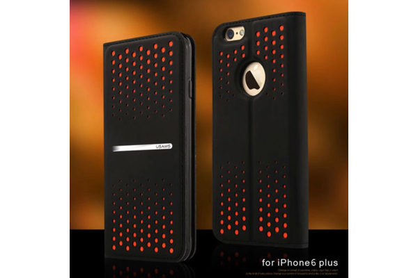 USAMS iPhone 6 Plus / Plus S Dots Case, orange