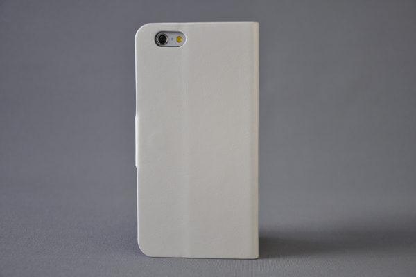 Foot iPhone 6/6S PU-Leder-Wallet, weiss