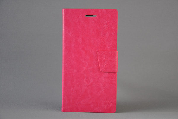 Foot iPhone 6 Plus/6 Plus S PU-Leder-Wallet, pink