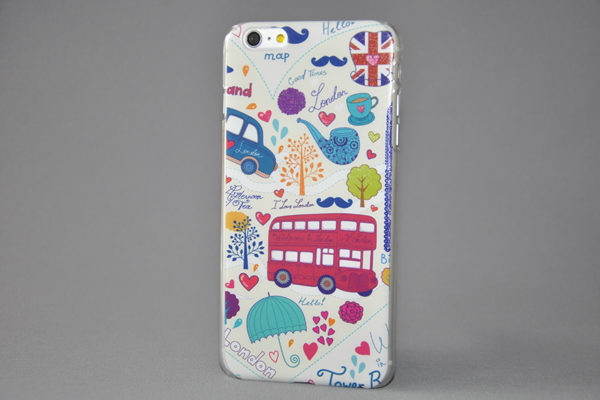 iPhone 6 Plus/6 Plus S Back-Cover LONDON