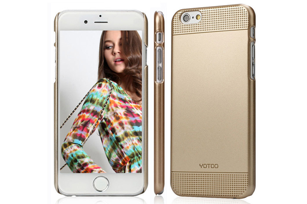 YOTOO iPhone 6 Plus / Plus S Back-Cover Golden Serie, SIMPLE