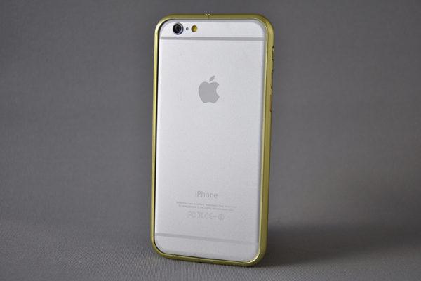 iPhone 6/6S Aluminium-Bumper, gold