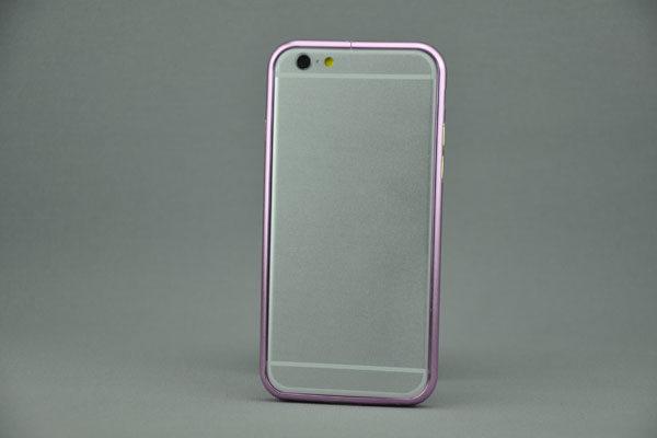 iPhone 6/6S Aluminium-Bumper, pink
