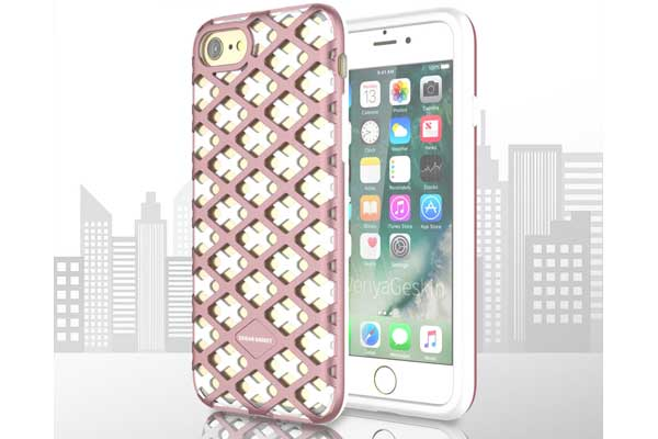 Urban-Knight Series TPU+PC Back-Cover iPhone 7, rose