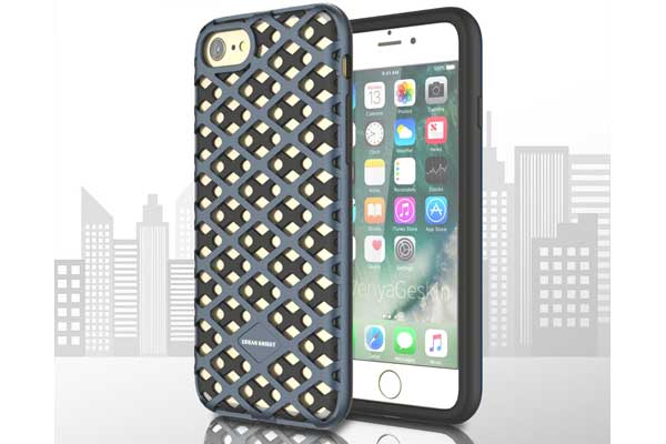 Urban-Knight Series TPU+PC Back-Cover iPhone 7, navy