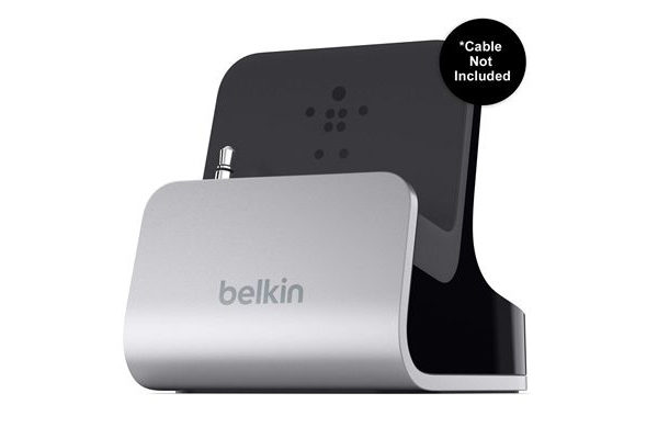 Belkin iPhone 5/5S/SE Sync & Ladestation mit Audioadapter