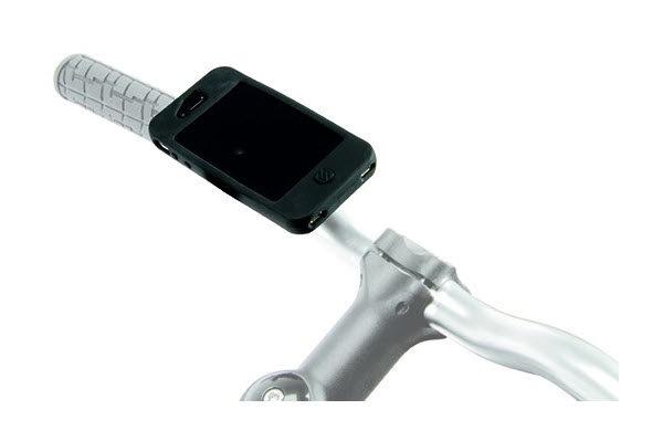 Scosche Fahrradhalterung für iPhone 5/5S/SE, schwarz