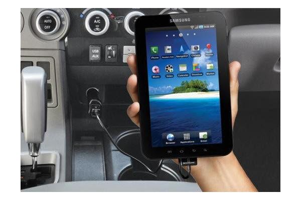 Scosche reVIVE II DualUSB Car Charger (2.1A + 1.0A Port) für iPad, iPhone & Smartphones, schwarz