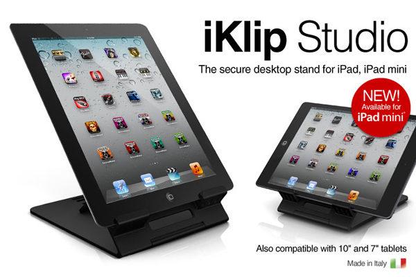 iKlip Studio - Schreibtischständer für alle iPad's