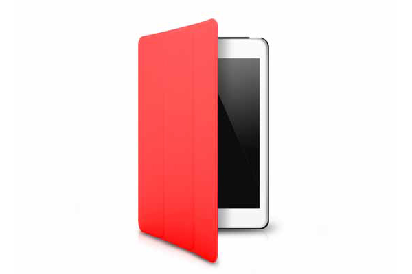 Ultra Case iPad Mini/Mini 2 Hard Case Minimal, rot