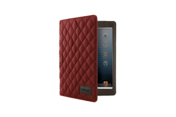 Barbour hochwertiges Folio Case für iPad mini/mini 2 'Quilted', Terracotta