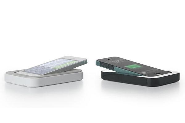 Bluelounge Saidoka Lightning Adapter, Ladegerät für iPhone 5/5S/SE, weiss
