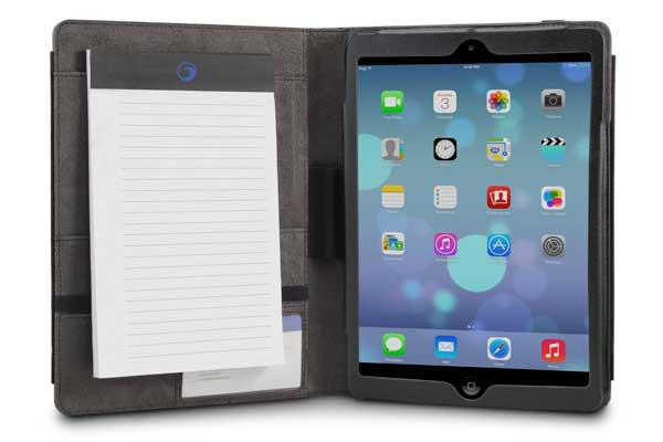 MarBlue InScribe Hülle/Case für iPad Air/Air 2, schwarz