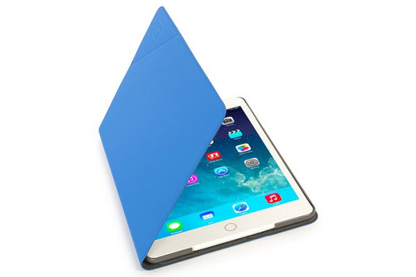 Tucano Angolo Folio Case für iPad Air/Air 2, blau