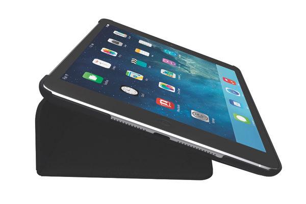 Kensington Comercio Folio Hard Case & Stand für iPad Air/Air 2, schwarz