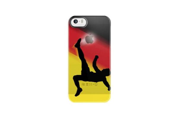Uncommon Fussball Back-Cover für iPhone 5/5S/SE, Deutschland