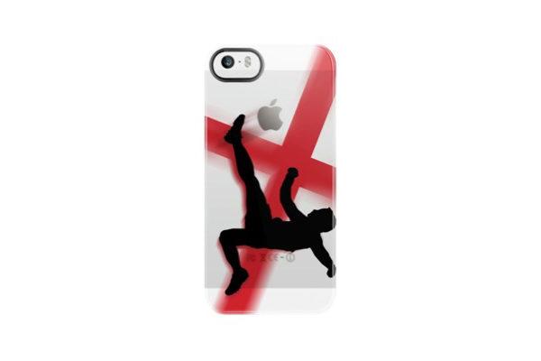 Uncommon Fussball Back-Cover für iPhone 5/5S/SE, England