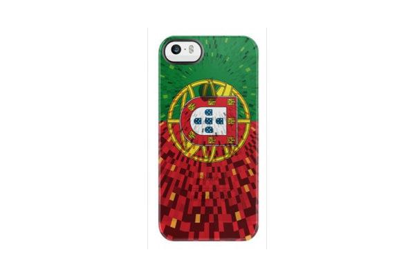 Uncommon Back-Cover für iPhone 5/5S/SE, Portugal