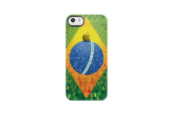 Uncommon Back-Cover für iPhone 5/5S/SE, Brasilien