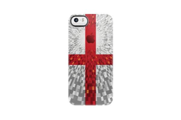 Uncommon Back-Cover für iPhone 5/5S/SE, England