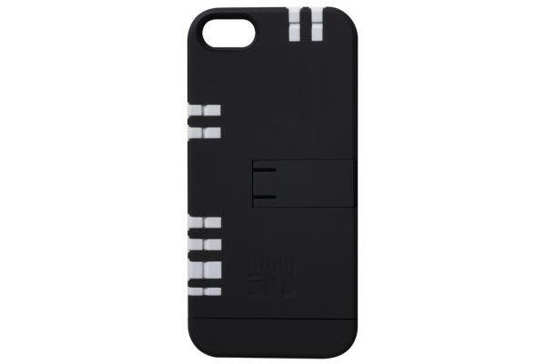 IN1Case Multifunktions-Case mit praktischen Werkzeugen integriert in der Hülle für iPhone 5/5S/SE, schwarz-weiss