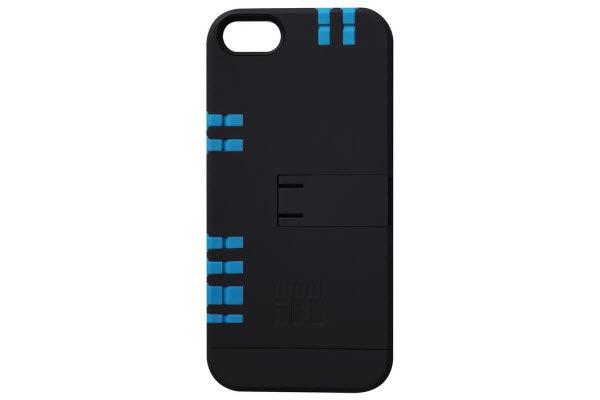 IN1Case Multifunktions-Case mit praktischen Werkzeugen integriert in der Hülle für iPhone 5/5S/SE, schwarz-blau