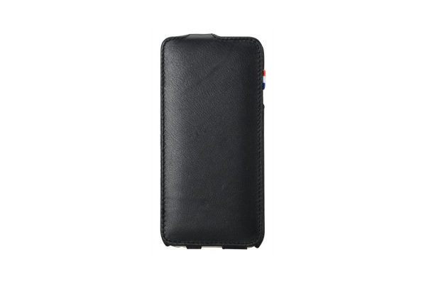Decoded Premium Leder Flipcase für iPhone 6/6S, schwarz