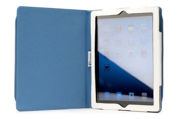 booq iPad 2/3/4 PU-Leder Etui, weiss