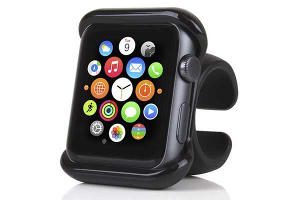 Satechi Apple Watch Grip Mount - Apple Watch 38 mm Halterung für Auto oder Fahrrad, schwarz
