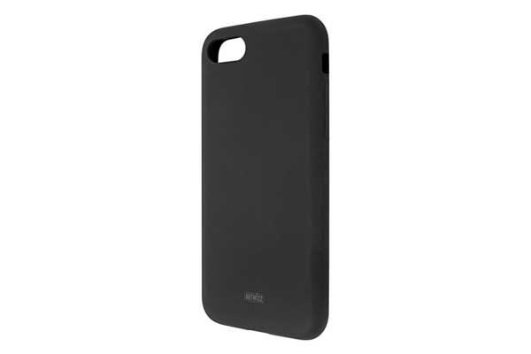 Artwizz Silicone Case - Schutzhülle aus weichem Silicon für iPhone 7, schwarz