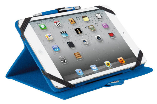 WEDO iPad Mini / Mini 2 Case TRENDSET mit Touch Pen 2-in-1, blau