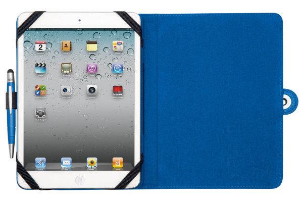 WEDO iPad Mini / Mini 2 Case TRENDSET mit Touch Pen 2-in-1, blau