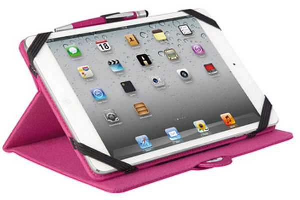 WEDO iPad Mini / Mini 2 Case TRENDSET mit Touch Pen 2-in-1, pink