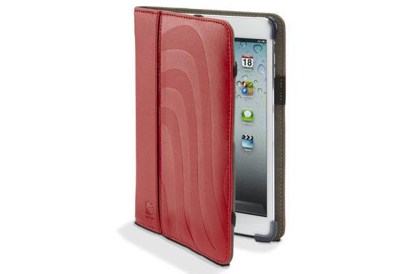 Maroo RIMU iPad Mini / Mini 2 Protective Leder-Case, rot