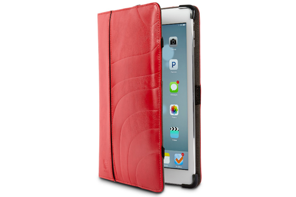 Maroo CANDY ipad Air/Air 2 Protecitve Leder-Case, rot