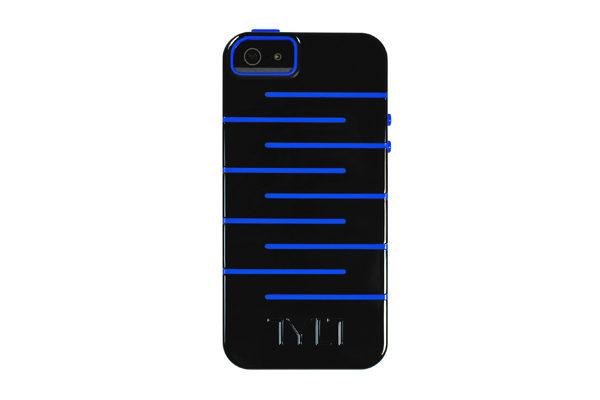 TYLT ZIGZAG Protective-Case iPhone 5/5S/SE, blau