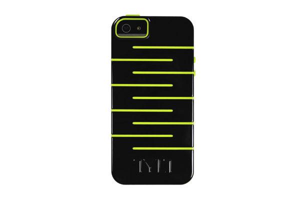 TYLT ZIGZAG Protective-Case iPhone 5/5S/SE, grün
