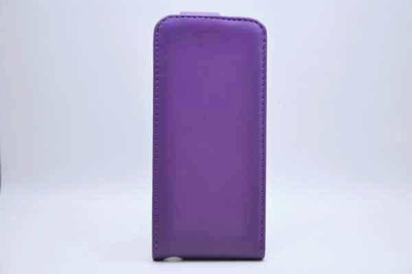 iPhone 5/5S/SE PU-Leder-Etui, violett