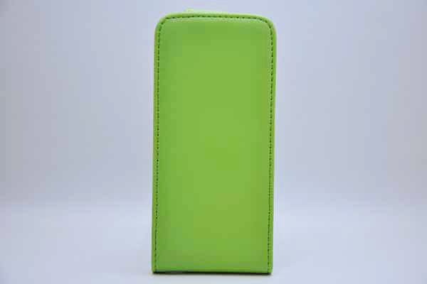iPhone 5/5S/SE PU-Leder-Etui, grün