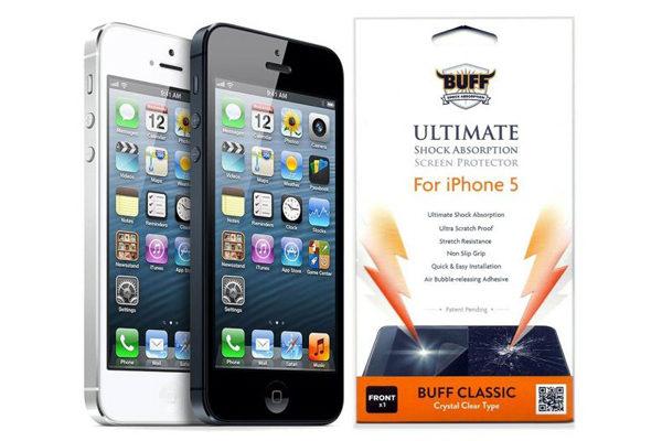 BUFF Panzerfolie BUFFLAB - die ultimative Panzerfolie für das iPhone 5/5S/5C/SE