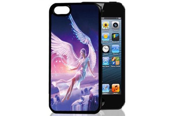 Bridge94 iPhone 5/5S/SE 3D-Back-Cover, Engel Phantasie