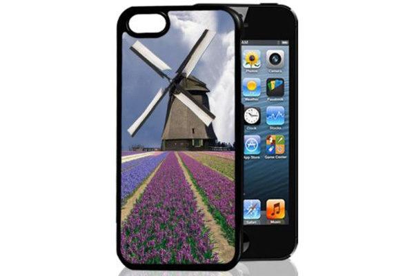 Bridge94 iPhone 5/5S/SE 3D-Back-Cover, Windmühle