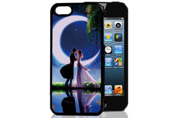 Bridge94 iPhone 5/5S/SE 3D-Back-Cover, Romantik