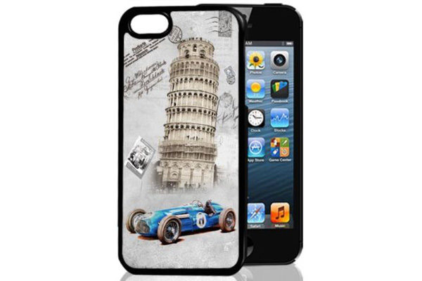 Bridge94 iPhone 5/5S/SE 3D-Back-Cover, Pisa Italien
