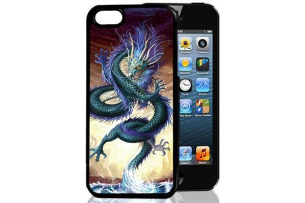 Bridge94 iPhone 5/5S/SE 3D-Back-Cover, Drache