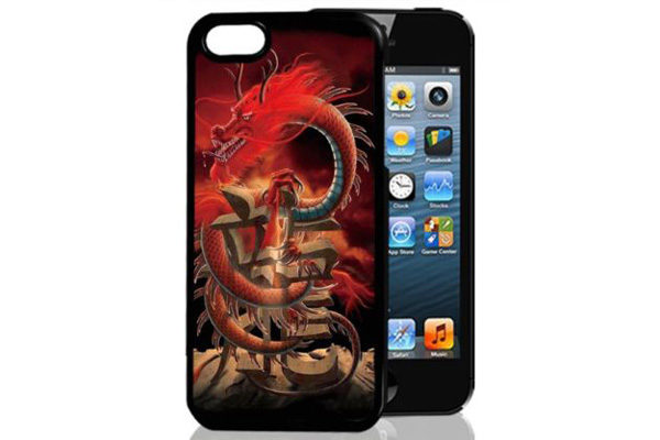 Bridge94 iPhone 5/5S/SE 3D-Back-Cover, Drache