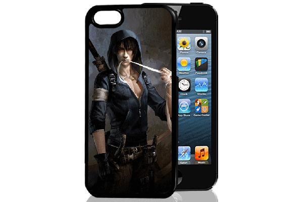 Bridge94 iPhone 5/5S/SE 3D-Back-Cover, Mann Phantasie