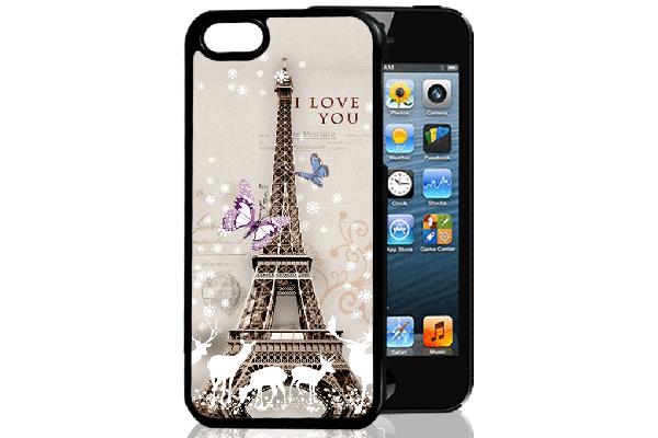 Bridge94 iPhone 5/5S/SE 3D-Back-Cover, Eifelturm Frankreich