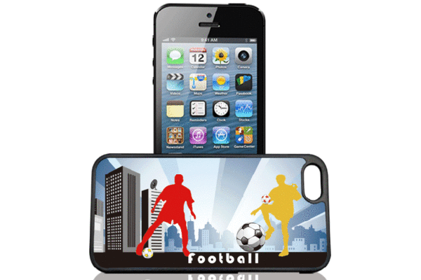 Bridge94 iPhone 5/5S/SE 3D-Back-Cover, Fussball